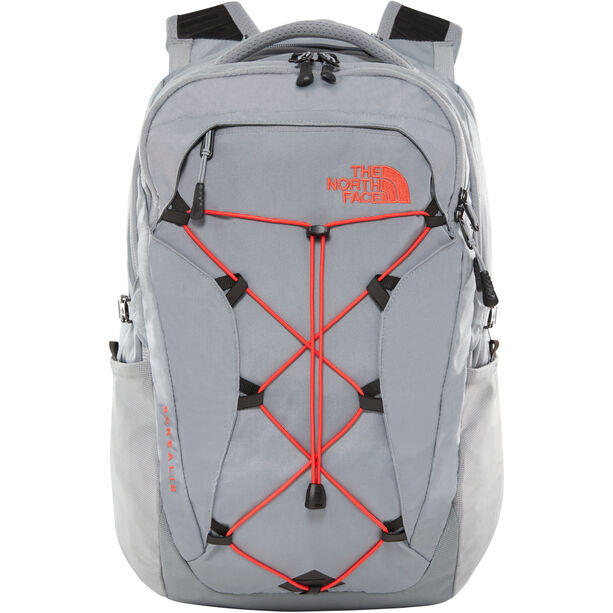 The North Face Borealis Backpack Damen mid grey/juicy red