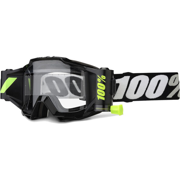 100% Accuri Forecast Goggles 45mm Film System Clear Lens