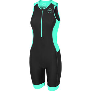 Zone3 Aquaflo Plus Trisuit Damen black/grey/mint black/grey/mint