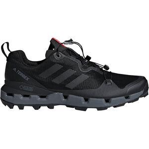 adidas TERREX Fast GTX-Surround Shoes Men core black/grey five/hi-res red