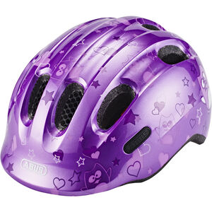 ABUS Smiley 2.0 Helmet Kinder purple star purple star