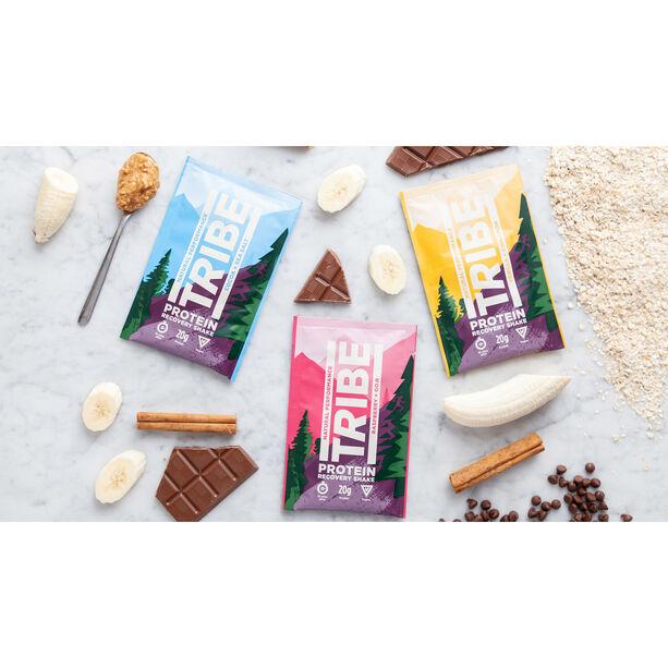 TRIBE Protein Shake Sachet Box 12x38g Kakao/Meersalz