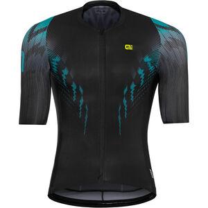 Alé Cycling R-EV1 Pro Race Shortsleeve Jersey Herren black-turquoise black-turquoise