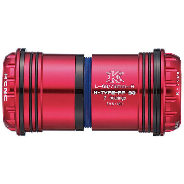 KCNC PF30 Road/MTB Press Fit Adapter red