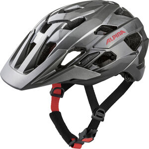 Alpina Alpina Anzana Helmet darksilver-black-red darksilver-black-red
