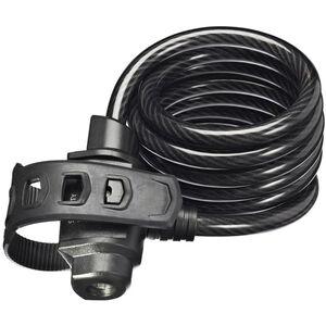 Trelock KS 322 FIXXGO Kabelschloss 75 cm schwarz schwarz