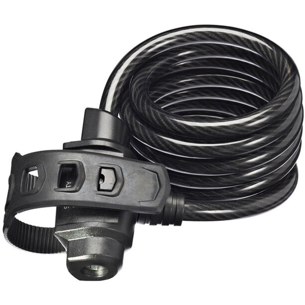 Trelock KS 322 FIXXGO Kabelschloss 75 cm schwarz