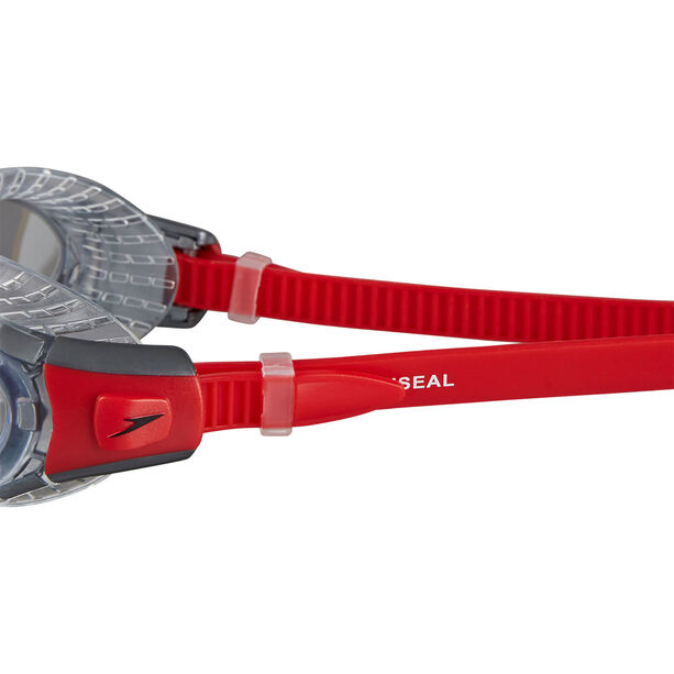 speedo Futura Biofuse Flexiseal Goggles lava red/clear