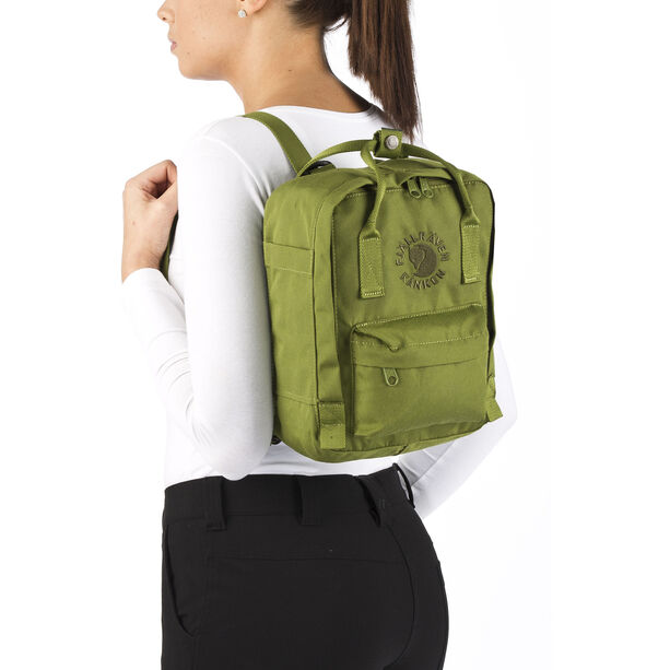 Fjällräven Re-Kånken Mini Backpack Kinder spring green