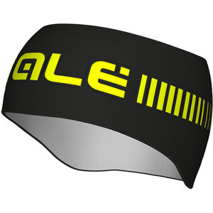 Alé Cycling Strada Headband black fluo yellow black fluo yellow