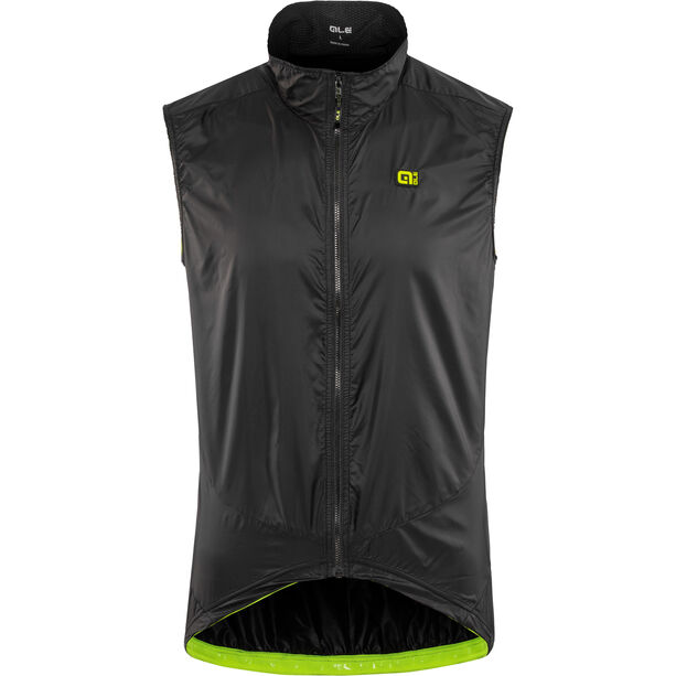 Alé Cycling Guscio Light Pack Vest Herren black
