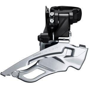 Shimano Deore Trekking FD-T6000 Umwerfer 3x10 Schelle hoch Down Swing schwarz schwarz