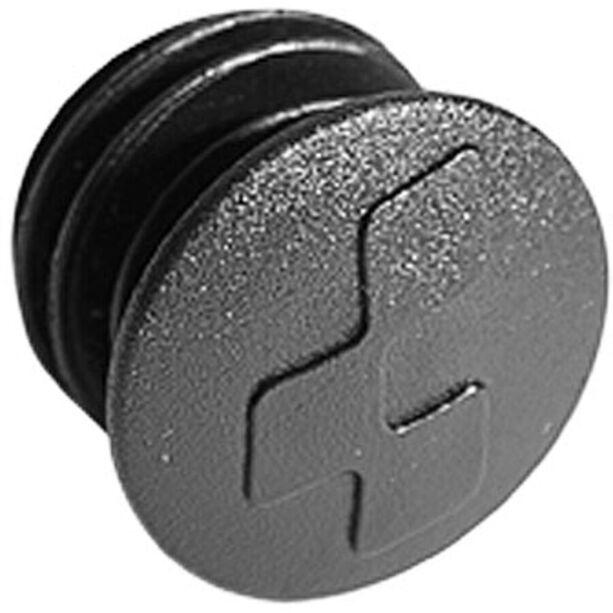 Cube Lenkerstopfen schwarz