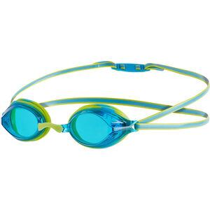speedo Vengeance Goggles Kinder lime punch/japan blue lime punch/japan blue