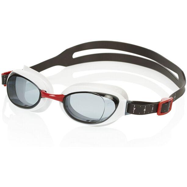 speedo Aquapure Goggles usa red/smoke