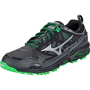 Mizuno Wave Daichi 4 GTX Shoes Men Dark Shadow/Quiet Shade/Poison Green bei fahrrad.de Online