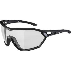Alpina S-Way L VL+ Glasses black matt black matt