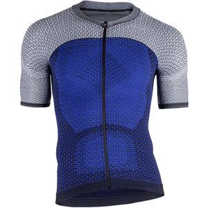 UYN Biking Alpha OW SS Shirt Herren medieval blue/sleet grey medieval blue/sleet grey