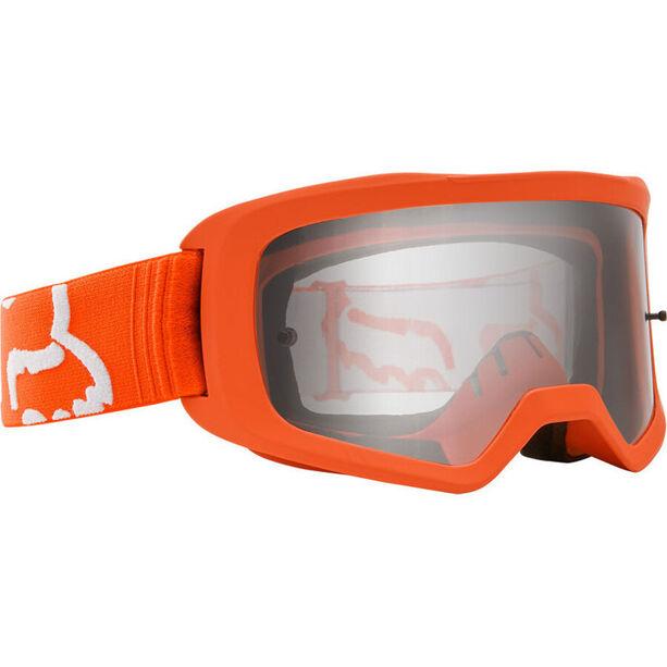 Fox Main II Race Brille fluorescent orange/clear