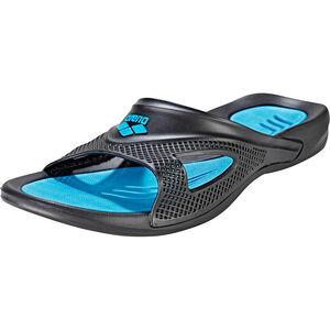 arena Hydrofit Hook Sandals Herren black-turquoise