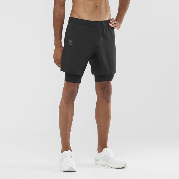 Salomon Agile Twinskin Shorts Herren black