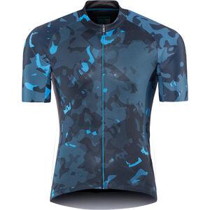 Shimano Breakaway Kurzarm Trikot Herren neon blue neon blue