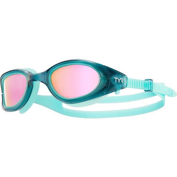 TYR Special OPS 3.0 Polarized Goggles Damen grey/mint