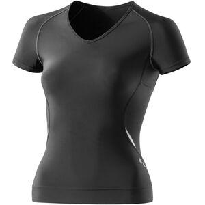 Skins A400 Top Short Sleeve Women black/silver bei fahrrad.de Online