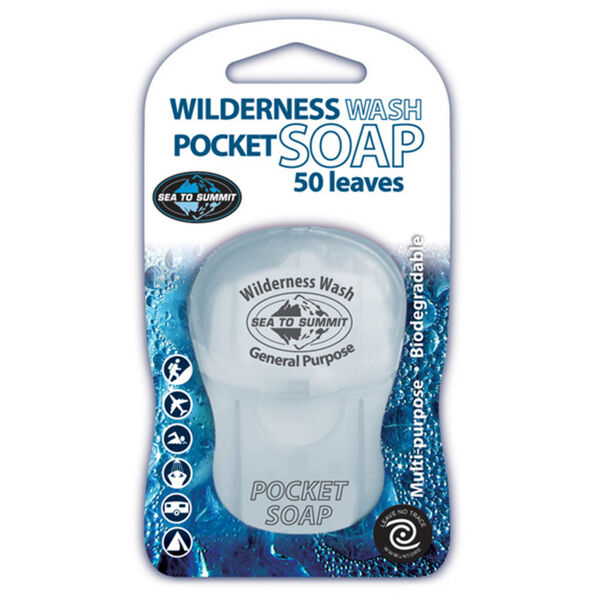 Sea to Summit Wilderness Wash Pocket Soap 50 Blättchen