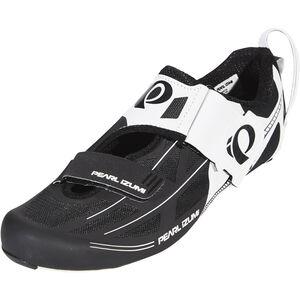 PEARL iZUMi Tri Fly Elite V6 Shoes Herren white/black white/black