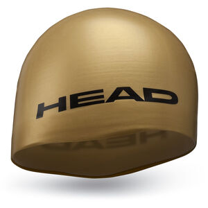 Head Silicone Moulded Cap gold gold