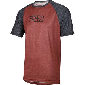 IXS Progressive 8.1 Jersey Herren red/black red/black