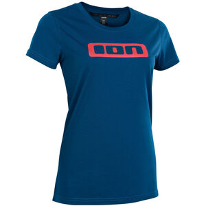 ION Seek DriRelease Kurzarm-Shirt Damen ocean blue ocean blue
