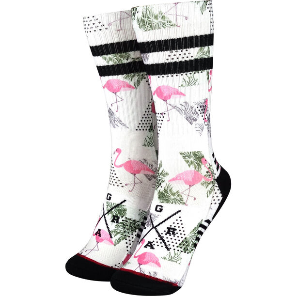 Loose Riders Pink Flamingos Socken pink/black