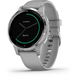 Garmin Vivoactive 4S Smartwatch grey/silver grey/silver