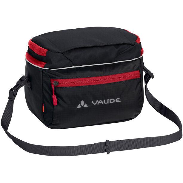 VAUDE Road I Handlebar Bag black/red