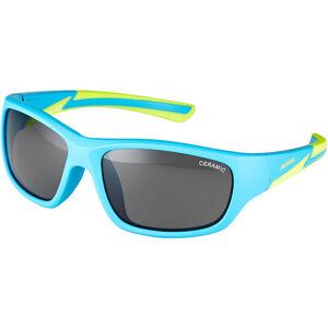 Alpina Flexxy Youth Glasses Kinder blue matt-lime blue matt-lime