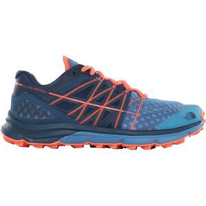 The North Face Ultra Vertical Running Trail Shoes Damen provincial blue/nasturtium orange provincial blue/nasturtium orange