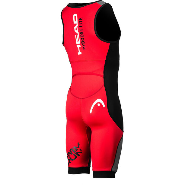 Head Swimrun MyBoost Lite Wetsuit Herren black-silver-red