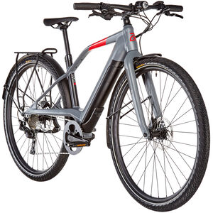 LOGO FS10 FAZUA E-Bike dark grey/black/red dark grey/black/red