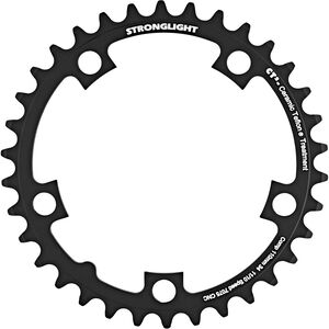 STRONGLIGHT Type 110 S Chainring 5 hole inside 10/11-speed schwarz schwarz