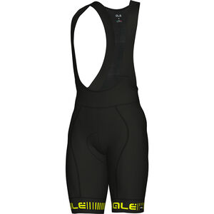 Alé Cycling Graphics PRR Strada Bibshorts Men black flou yellow bei fahrrad.de Online