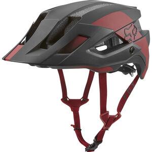 Fox Flux Mips Conduit Trail Helmet Herren cardinal cardinal
