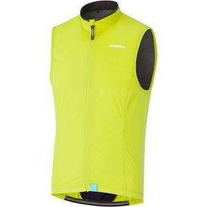 Shimano Compact Wind Vest Men neon yellow