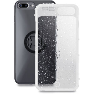 SP Connect Weather Cover iPhone 8+/7+/6S+/6+ schwarz-transparent schwarz-transparent