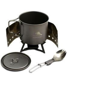 Toaks Ultralight Titanium Solid Fuel Cook System