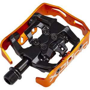 Xpedo Clipless Milo Pedals schwarz/orange schwarz/orange
