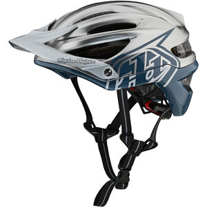 Troy Lee Designs A2 Decoy MIPS Helmet air force blue/silver air force blue/silver