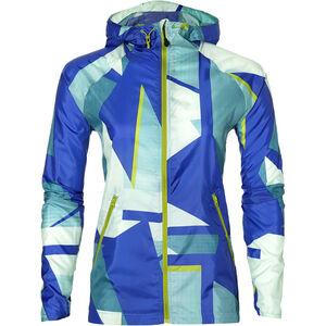 asics fuzeX Packable Jacket Damen shatter arctic aqua shatter arctic aqua