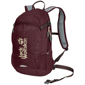 Jack Wolfskin Velocity 12 Backpack port wine grid port wine grid